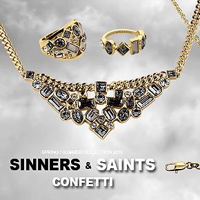 D/K Sinners & Saints – Confetti. Весна-лето 2013